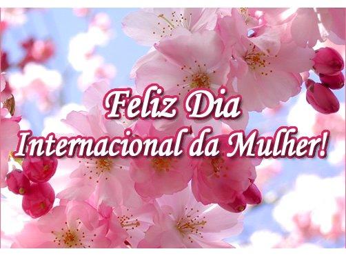 linda mensagem feliz dia internacional da mulher com carinho