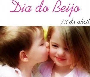 dia do beijo 13 abril