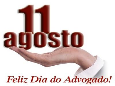 11 de agosto- mensagem dia dos advogados