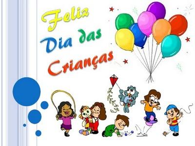 feliz dia das crianças com amor e carinho