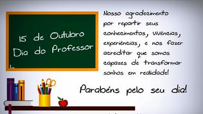 Feliz Dia Dos Professores Whatsapp E Facebook Mensagens Lindas