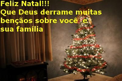 feliz Natal para amigos do grupo whatsapp