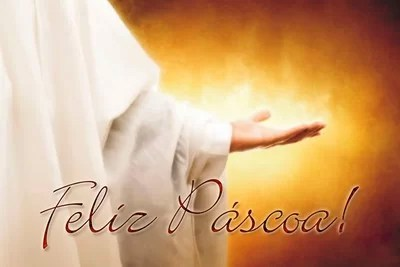 feliz Páscoa Jesus Cristo ressuscitou para nós