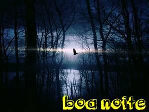 mensagens boa noite que o silencio noturno