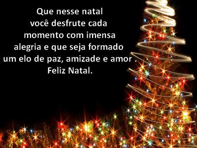mensagem de natal recheada de paz alegria e felicidade