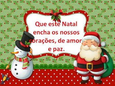 mensagem feliz natal que seja lindo e maravilhoso