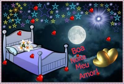 mensagem de boa noite romantico