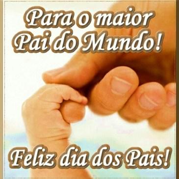 feliz dia dos pais para o maior pai do mundo