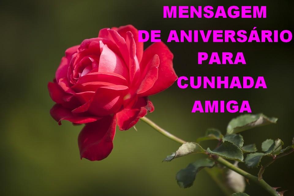Feliz Aniversário Cunhada: Mensagem De Aniversario Para Cunhada Amiga