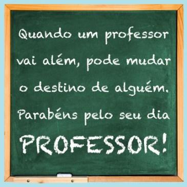 mensagem especial dia dos professores