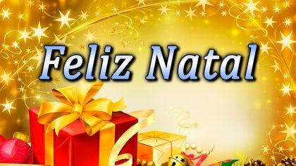 Feliz Natal com paz e alegria
