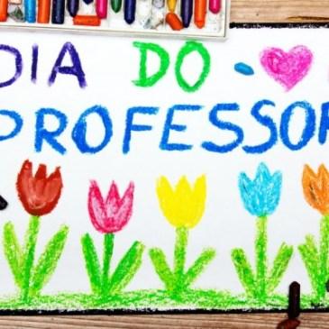 homenagem dia dos professores com amor e respeito