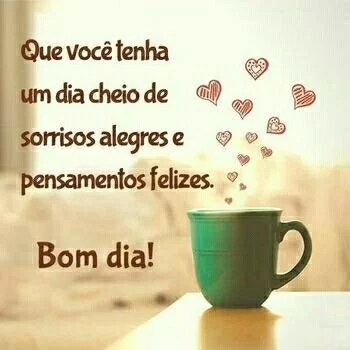 bom dia com alegria desejo pra você um belo dia