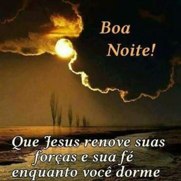 mensagem de boa noite com jesus