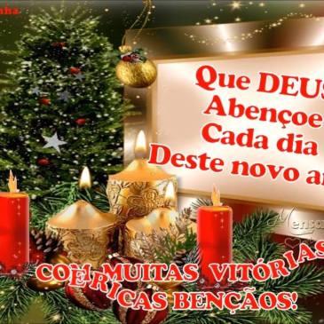 mensagem linda de feliz natal com paz