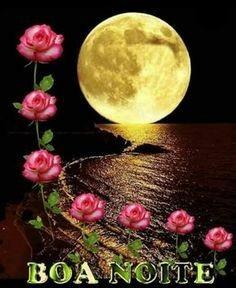linda mensagem de boa noite-sonhos calmos