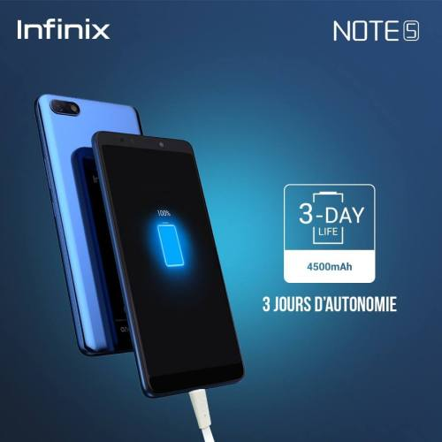 infinix note 5 batterie