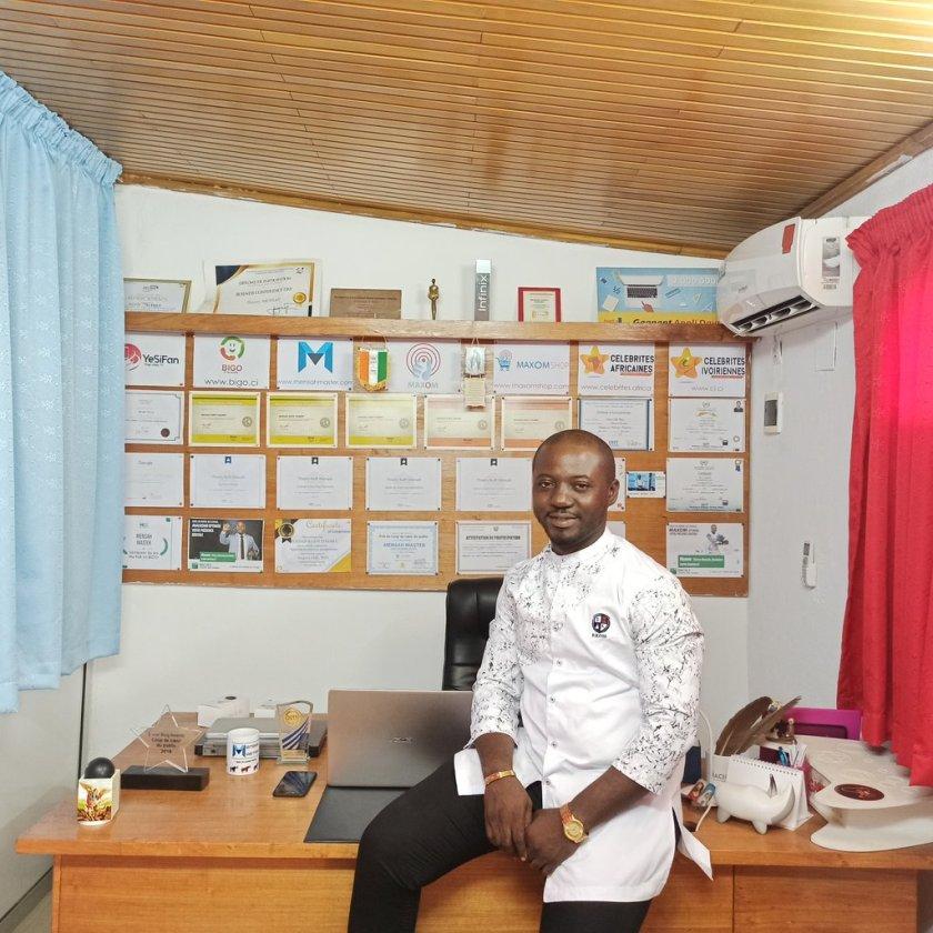 mensah candidat association des blogueurs de côte d'ivoire