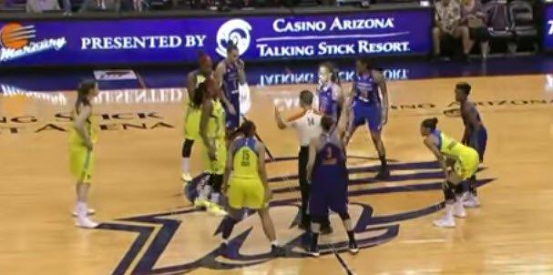 WNBA Early Offense by Layton Westmoreland