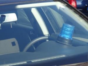 Polizei Zivil Blaulicht