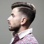 men shaved hairstyles & haircuts
