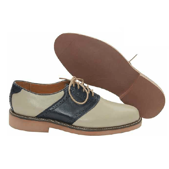 Saddle Oxford Shoes Golf