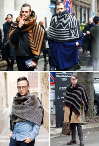 How To Wear Blanket Scarves For Winter | Mens Fashion Magazine