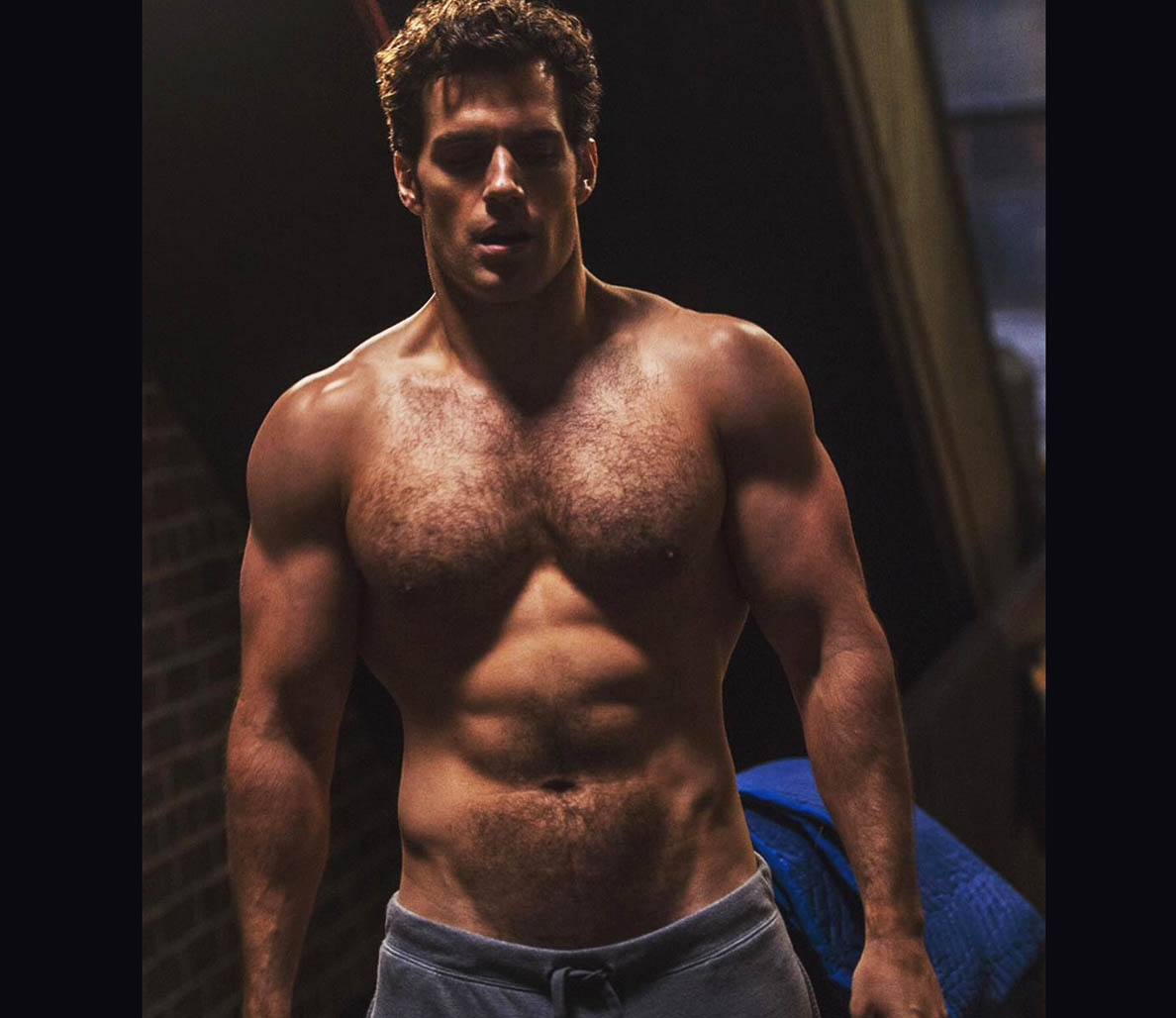 Heres the Proof That Henry Cavill Is Getting Absolutely Jacked to Play Superman Again