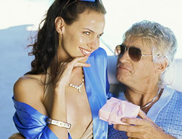 hot woman with older guy