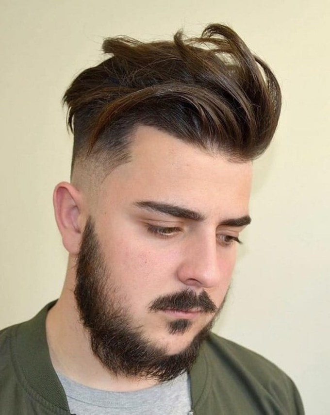 62 hairstyles for round faces men & what you can learn from them