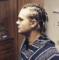 Cornrows Hairstyle for Men: How to Style and Get - Men's ...