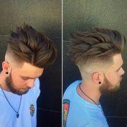 style spiky hair tips
