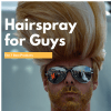 man with big hair and sunglasses