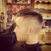 slicked undercut hairstyle