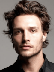 men light curly hairstyle