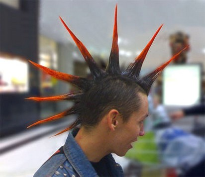Long Punk Hairstylejpg 4 Comments