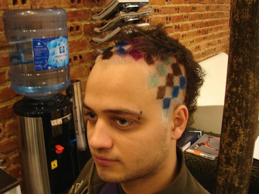 Cool Colorful Hairstyle For Young Menjpg 3 Comments