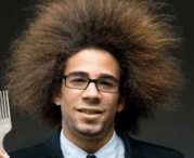 black men hairstyle with wild