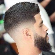 skin fade haircut bald