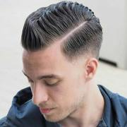 side part haircut - classic gentleman's