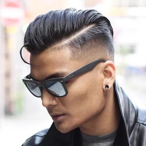 manner haarschnitt undercut mit ubergang - trends frisuren