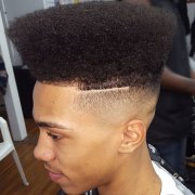 flat top haircut men's haircuts