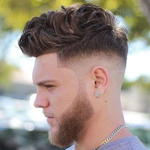 Temp Fade Haircut  Best 17 Temple Fade Styles 2019  Mens Haircuts  Hairstyles 2019