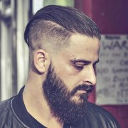 slicked hairstyles men's