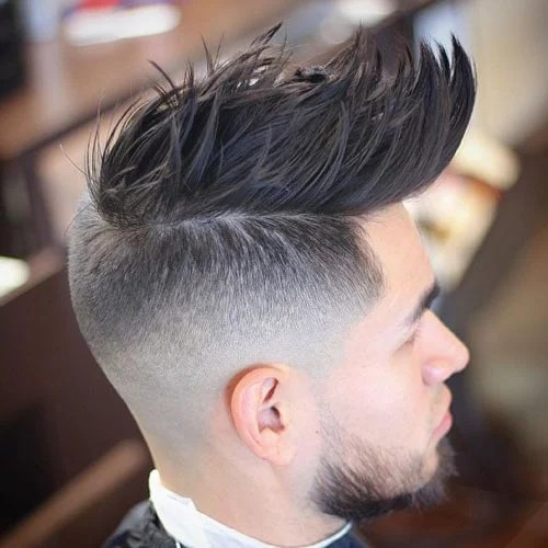 Faux Hawk Fade Cool Fohawk Haircuts For Men