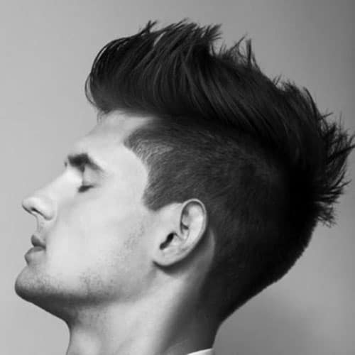 25 Faux Hawk Fohawk Haircuts 2019 Mens Haircuts