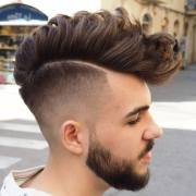 mohawk fade haircut men's