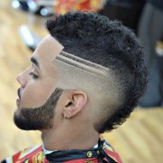 mohawk fade haircut 2019 men's