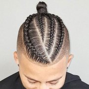 braids men - man braid
