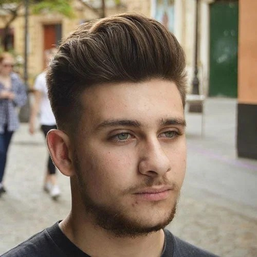 25 Best Haircuts For Guys With Round Faces 2019 Guide
